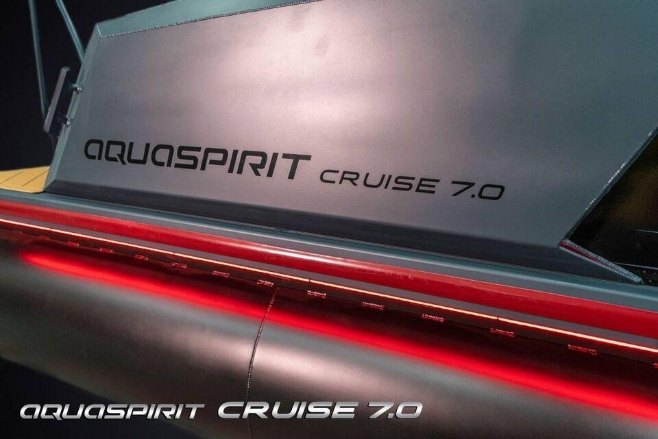 Gummibåd, Aqua Spirit 7.0 Cruise - Genesis - 100 HK..., årg.
