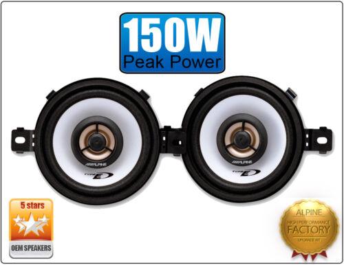 """Volvo 850 Front Dash speakers Alpine 3.5/"""" 87cm car speaker kit 150W Max"""