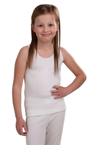 Extra Warm British Made RP Collections® Girls Thermal Underwear Sleeveless Vest