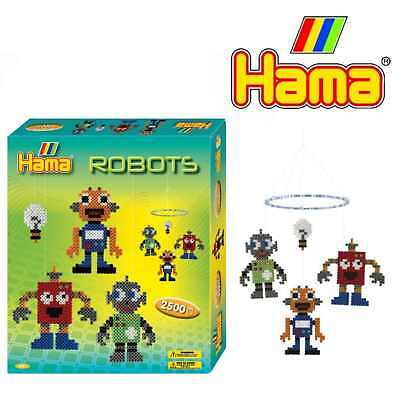 Gastfreundlich Bügelperlen Midi Von Hama Eine Geschenkpackung über Roboter Aromatischer Geschmack Spielzeug