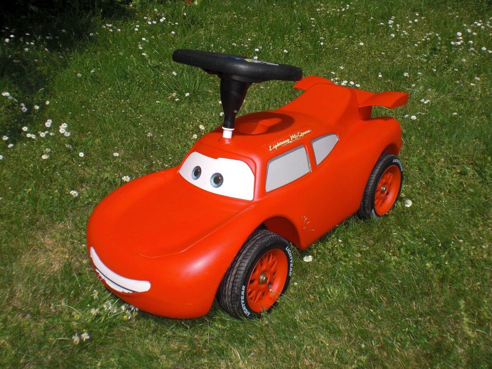 BIG Cars Lightning Mc Queen rot - Rutscher Auto Auto Auto Rutscherauto Bobby Car f0d727