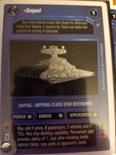 Star Wars CCG WB A New Hope Unlimited Conquest NrMint-Mint