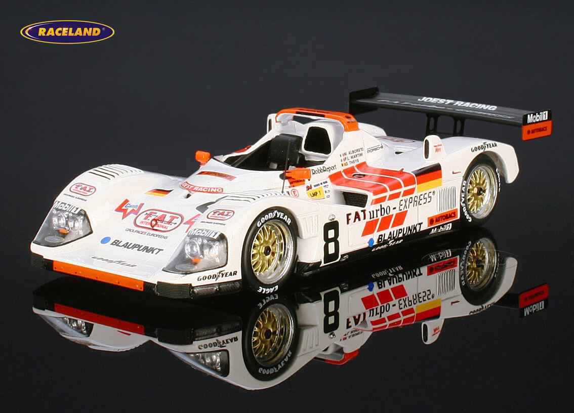PORSCHE cet Joest wsc95 LE MANS 1996 Theys Alboreto Martini, SPARK 1 43, s4179