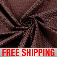 Football Basketball Jersey Mesh Fabric Sports Maroon 60 Wide. Free Shipping