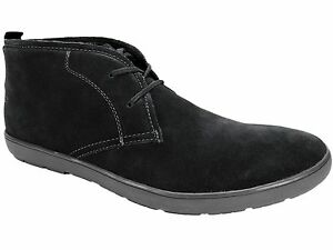Calvin-Klein-Men-039-s-Nowles-Chukka-Boots-Dark-Grey-Suede-Size-11-5-M