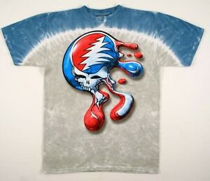 GRATEFUL DEAD-SYF DRIP MELTING-STEAL YOUR FACE-2 SIDED