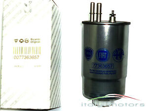 ALFA-ROMEO-159-1-9-2-0-2-4-JTDM-ORIGINALE-Filtro-carburante-DIESEL-77363657