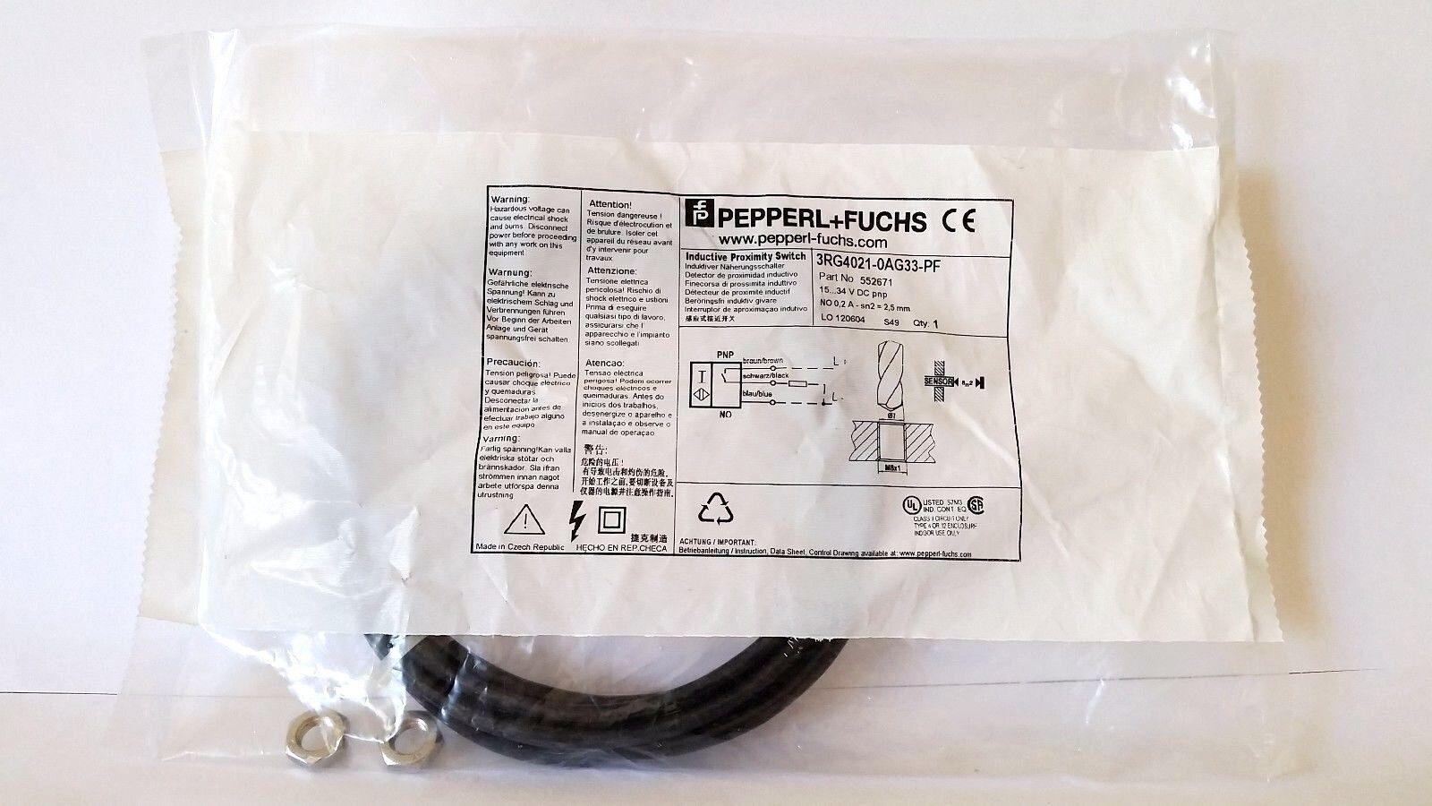 Pepperl Fuchs 3RG4021-0AG33-PF  Inductive Proximity Sensors