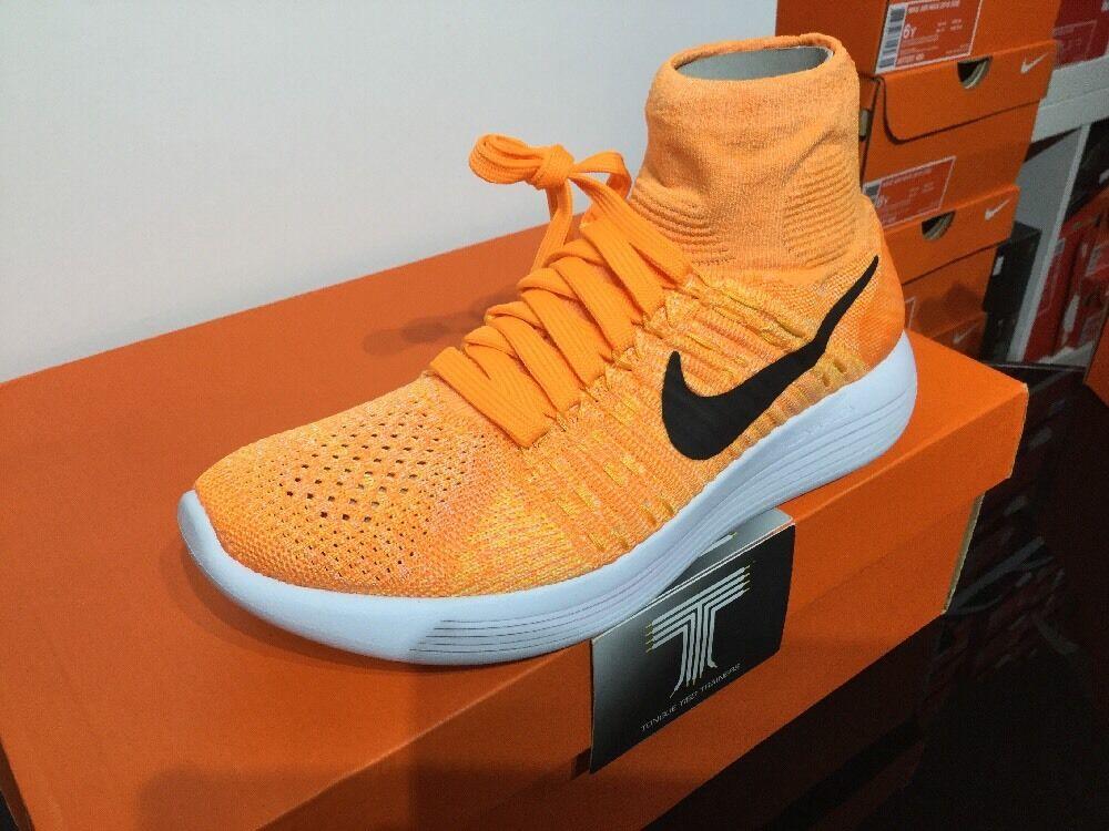 Nike lunarepic Flyknit  LASER arancia  818677 801    e28bcb