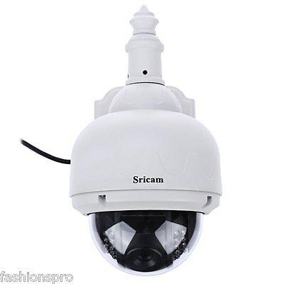 Sricam SP015 720p H.264 WI-FI INALÁMBRICO ONVIF IR Visión Nocturna Seguridad
