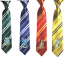 Harry Potter Gryffindor//Slytherin//Hufflepuff//Ravenclaw Badge Necktie Ties Prop