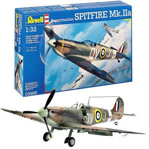REVELL-Supermarine-Spitfire-Mk-IIa-1-32-Aircraft-Plastic-Model-Kit-03986