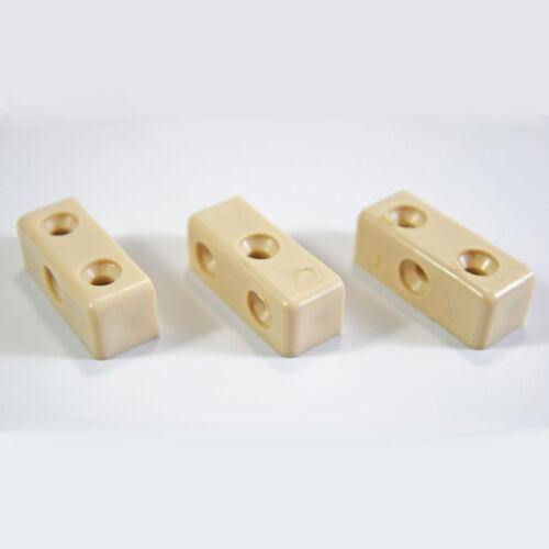 100 x modestie mod blocs Beige Meuble Cuisine Armoire Fixation Joint Connecteur