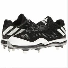 buy online 2026b 80ae1 adidas poweralley chaussures de baseball baseball baseball noir   blanc    collegiate or   Luxuriante Dans