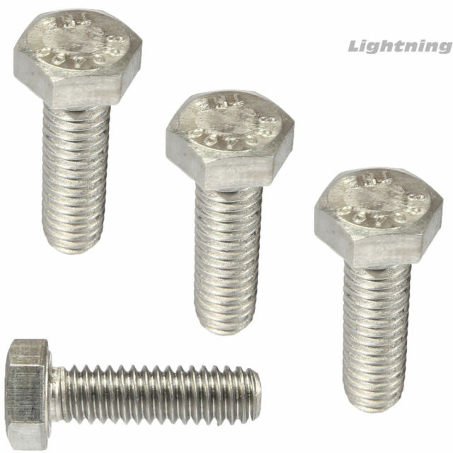 M5-.8 X 16 Hex Head Cap Screw Full Thread A2 Stainless Steel Package Qty 100