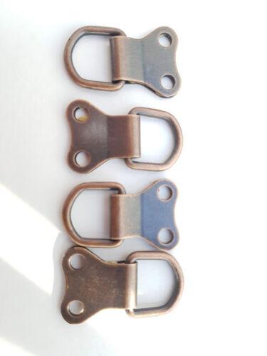 Cadre photo double D bagues bronzés Toile Crochet Cintres Mult annonce