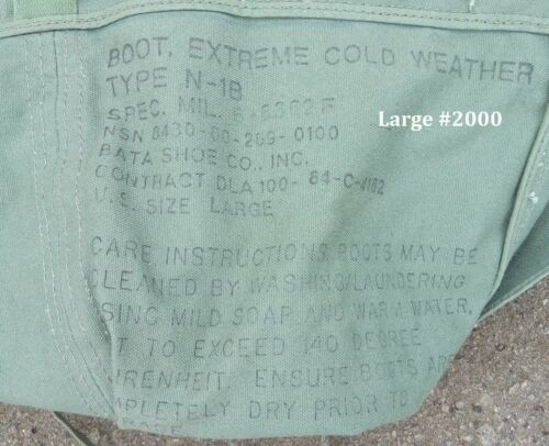 Type N-B1 Extreme Cold Weather Boot