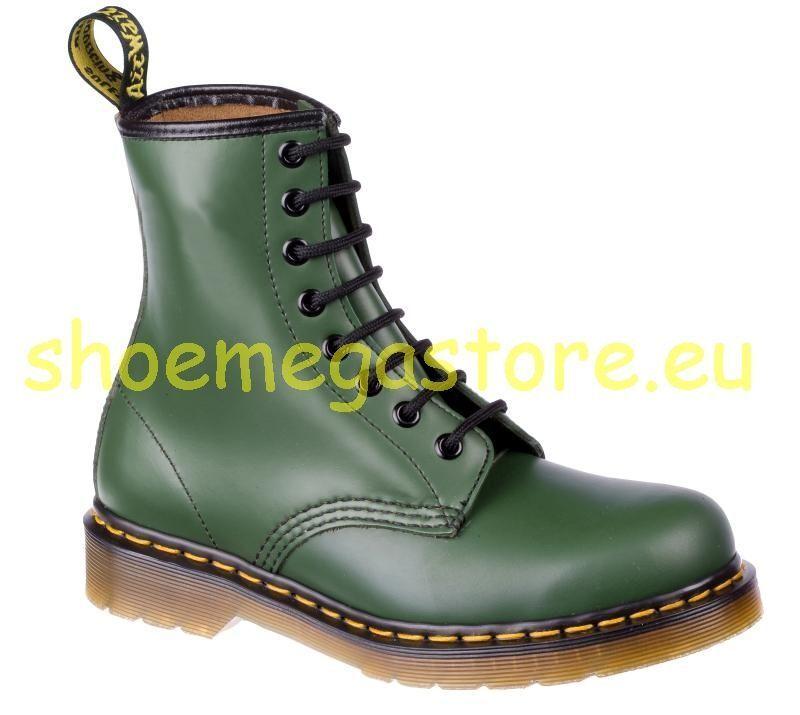 Original Classic doc Dr Martens 8 agujeros 1460 Green 11822207