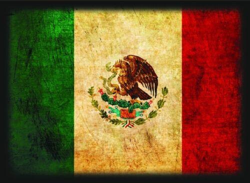 MTG Flag Series 50ct Max Protection Standard Shuffle-Tech Sleeves MEXICO Flag