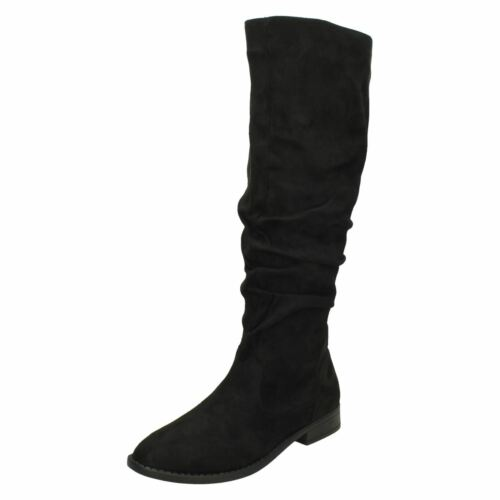 Ladies On Knee High Black Boots Spot zw6xwZ