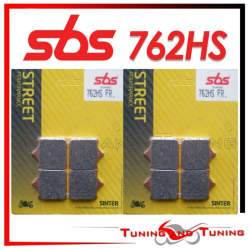Pastiglie Anteriori SBS HS Sinter Per TRIUMPH SPEED TRIPLE 1050 2010 2011 762 HS