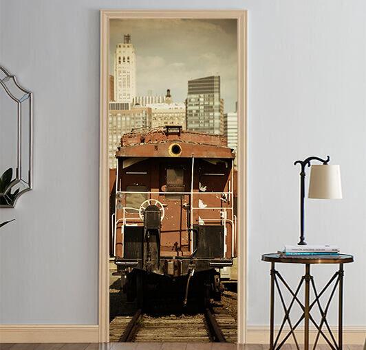 3D Haus 74 Tür Wandmalerei Wandaufkleber Aufkleber AJ WALLPAPER WALLPAPER WALLPAPER DE Kyra   Ausgezeichnet    2019    Rich-pünktliche Lieferung  b7af9e