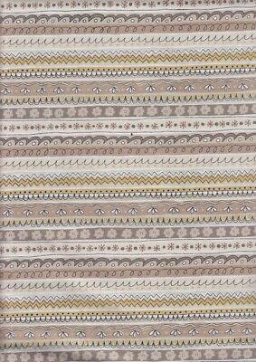 Stripe Doodle Days 100/% cotton Half Metre 50 x 110 cms