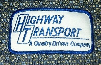Capable Highway Transport (trucking) Aufnäher Carefully Selected Materials