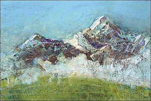 Kellie-Day-Wilson-Fog-Verde-camilla-imagen-de-Pantalla-montanas-Sierra-PAISAJE