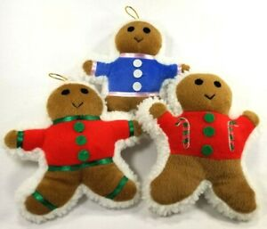 Ginger-Buddy-GingerbreadMan-Squeaker-Soft-Plush-dog-toys-toy-puppy-Gift-B5