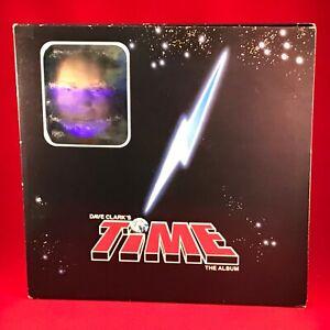 VARIOUS-Dave-Clark-039-s-Time-1986-UK-double-vinyl-LP-soundtrack-musical-hologram