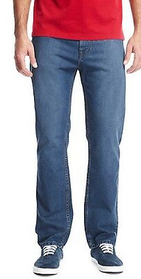 Ex M/&S Men/'s Jeans Regular Leg Trousers Pants Straight Fit Marks /& Spencers UK