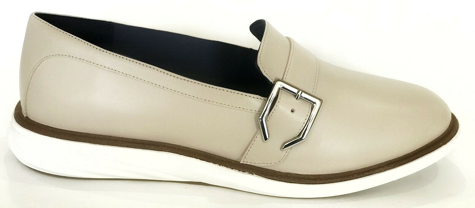 Cole Haan Womens GrandEvolution Leather Leather Leather Slip On shoes Pumice 9 NEW IN BOX a27617