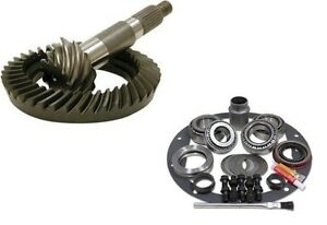 72-06 Dana 44 Front or Rear 4.56 THICK Ring and Pinion Master Kit USA Gear Pkg
