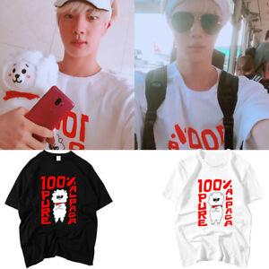 Kpop-Jin-T-shirt-Tshirt-Unisex-Cotton-Tee-D790