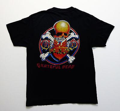 Grateful Dead Shirt T Shirt Vintage 1981 Rick Griffin Crossbones Dead Set M NEW
