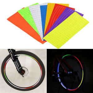 New Pair Reflective Light Sticker Decal For Specialized Road Bike Mountain Bike