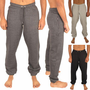 MENS-JOGGING-BOTTOMS-JOGGERS-SLIM-FIT-TRACKSUIT-FLEECE-PANTS-GYM-SWEATS-S-2XL