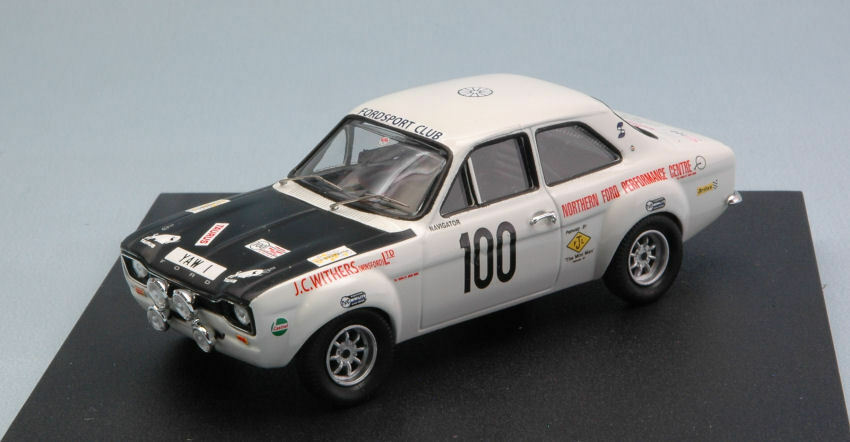 Ford Escort Mk1  100 Rally Manx 1971 C. Withers 1 43 Model 0552 TROFEU