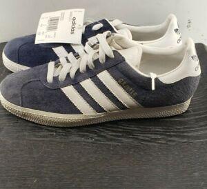 NEW IN BOX Adidas Gazelle II 2 marine white sneakers Mens Sz 7 ...