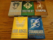 Fabulous Set of 5 Anthony Horowitz Books ALEX RIDER Snakehead Scorpia Ark Angel