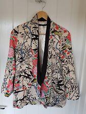 Cmnc Nero Kimono orientali Giacca Taglia S