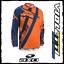 MOTION-4-JERSEY-BLUE-ORANGE-AXO-maglia-maglietta-enduro-cross-arancio miniatura 1