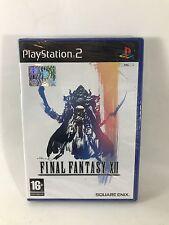 FINAL FANTASY XII Playstation 2 PS2 PAL Nuovo FACTORY SEALED SIGILLATO RPG