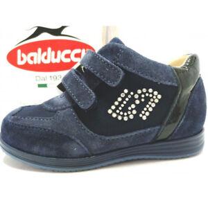 Caricamento dell immagine in corso Balducci-Sneakers-Bambina-scarpe -Vera-Pelle-Scamosciata-Impermeabile- 9aae53bdfb5