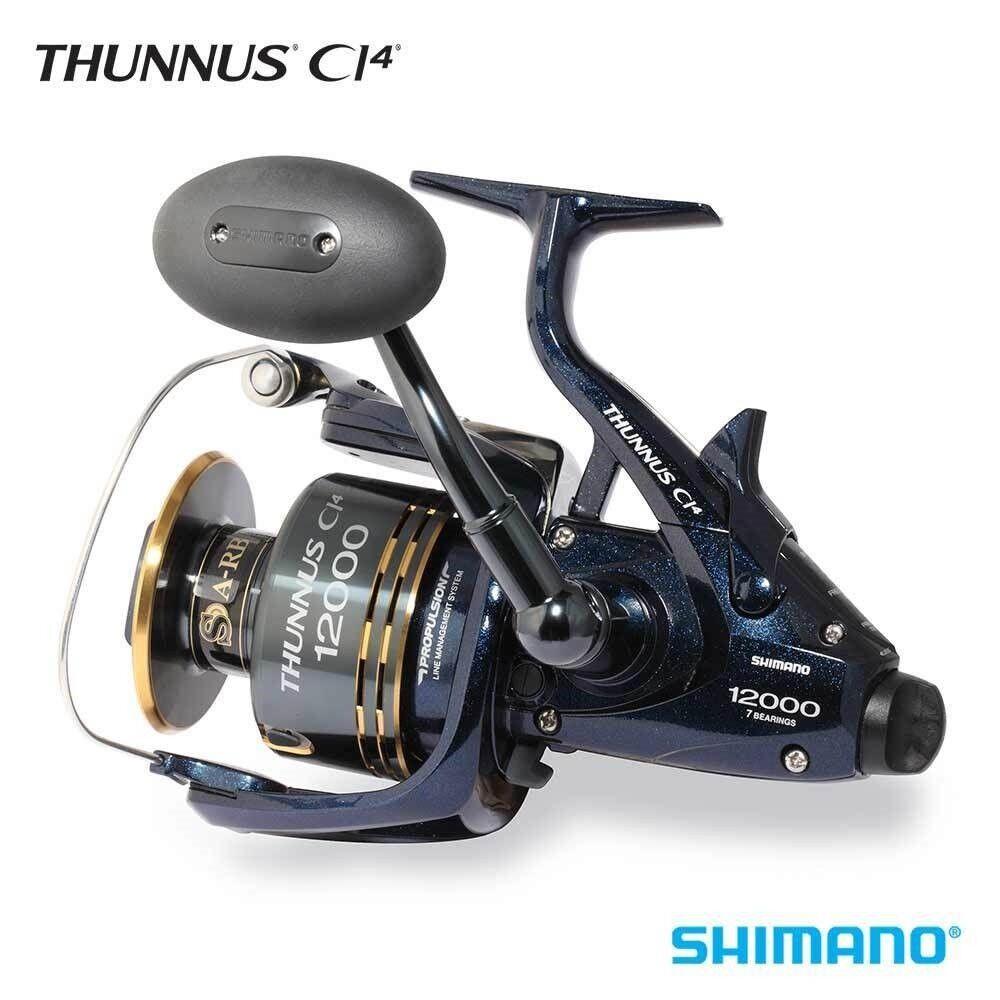 Shimano-CI4 TU12000CI4 Carrete giratorio para Agua Salada