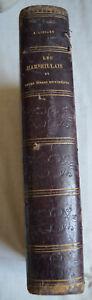 1862 Les Marseillais Liénard edition originale lithographie reliure cuir