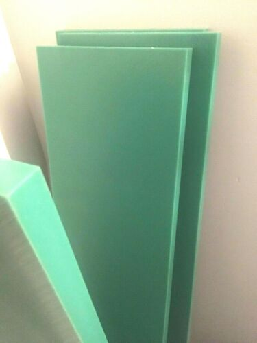 """GREEN UHMW REPRO 1/"""" BLOCKS 1ft x 4/"""" OR CUSTOM SIZES Available"""