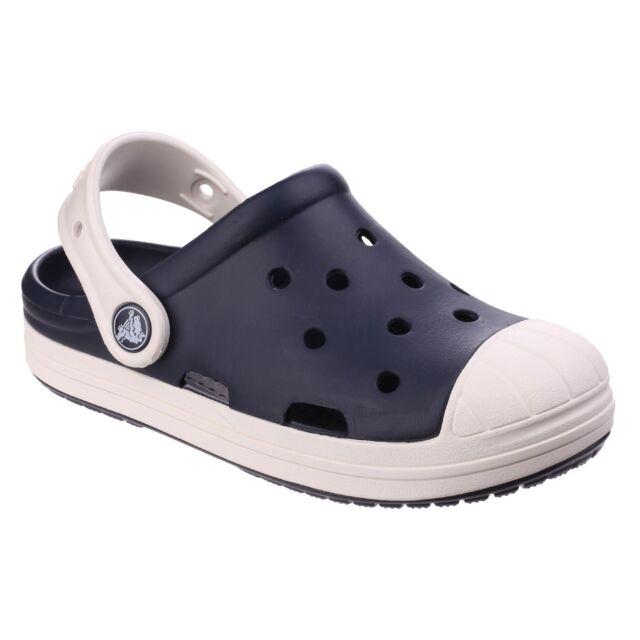 1e4cd189c1fe3 Crocs 202282 Bump It 43w Navy oyster Kids Clog Various Sizes 9 UK   C9   26  EU