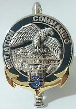 Brevet  INITIATION COMMANDO 3°RIMA 3°Régiment d'Infanterie de Marine PENTHIEVRE